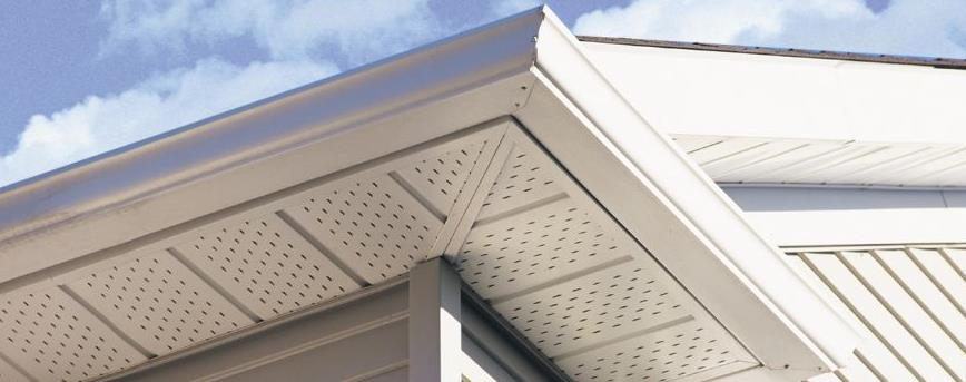 If You Are Definitely Want To Consider Going With Aluminum Soffit And Fascia Material Aluminums Durability Low Maintenance Makes It A Superior