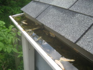 A gutter system is constantly in need of repair and maintenance